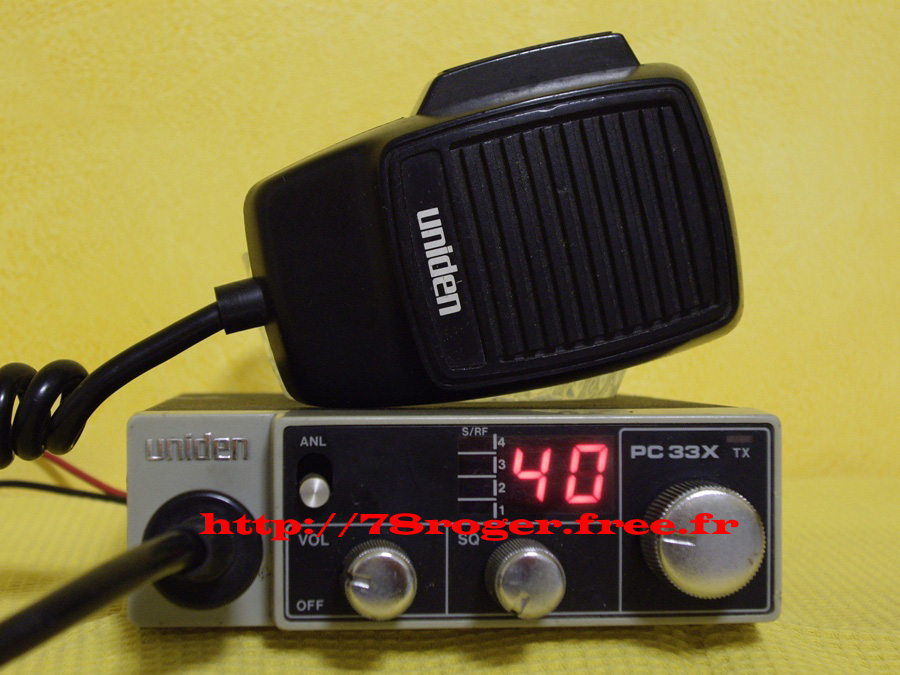 Uniden PC33 Pc33x