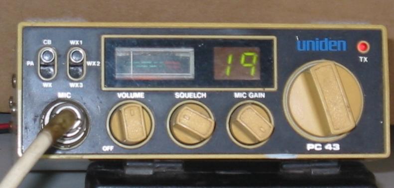Uniden PC 43 Pc43